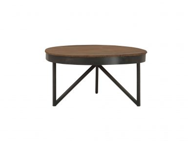 Teak salontafel Fendy Rond Medium Ø70cm