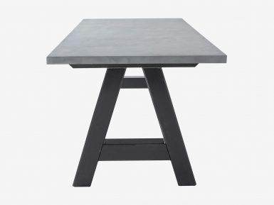 Industriele Tafel Goedkoop : FØrn meubels op maat showroom zwolle betonnen eettafels