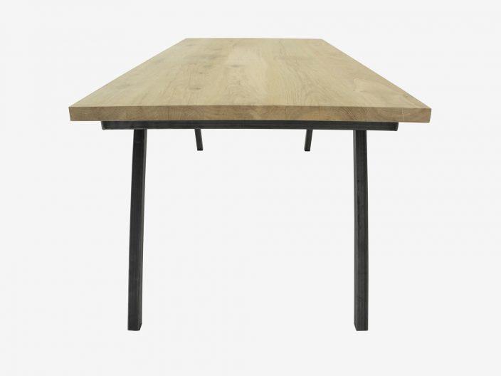 industriele eikenhouten tafel Seven witte achtergrond2