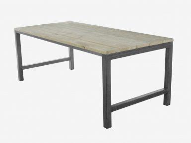 industriele steigerhouten tafel Olivia