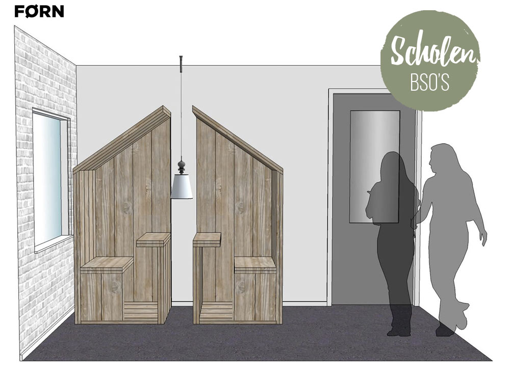 BSO meubelen en ontwerp van scholen en kantine's