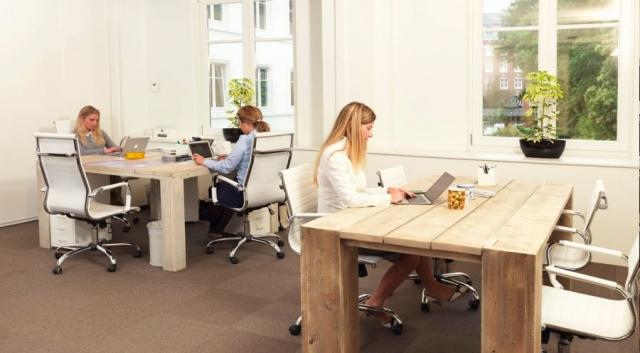 Bureau's kantoor