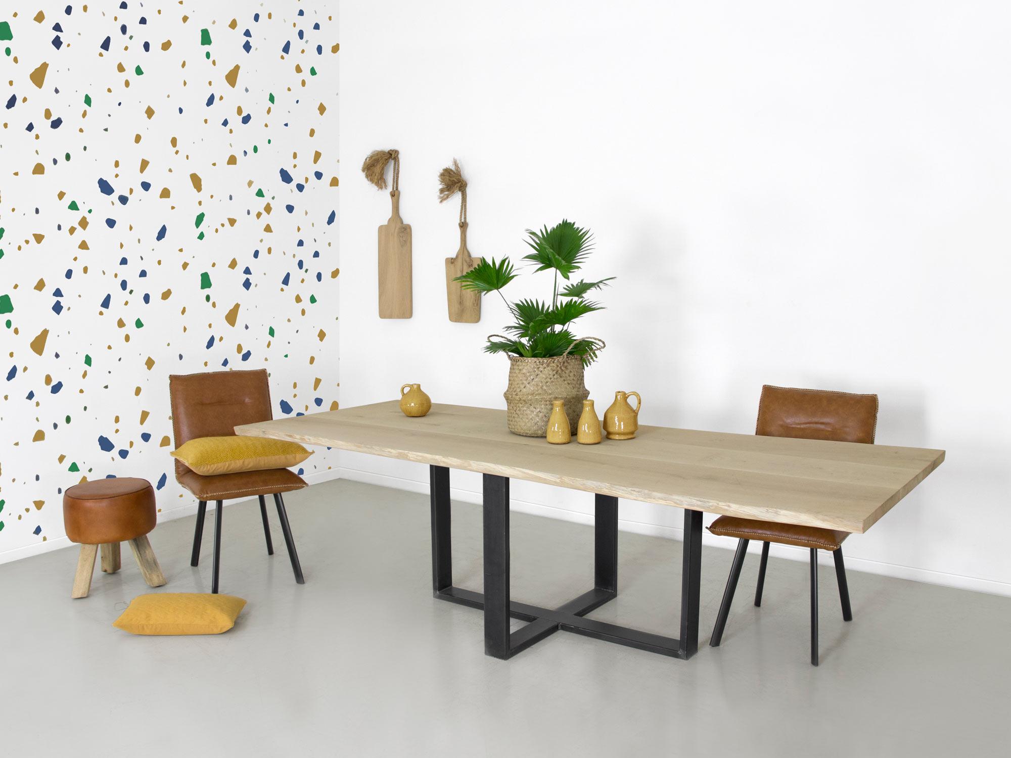 Tafel Van Boomstam : Boomstam tafel duc op maat gemaakt fØrn meubelen