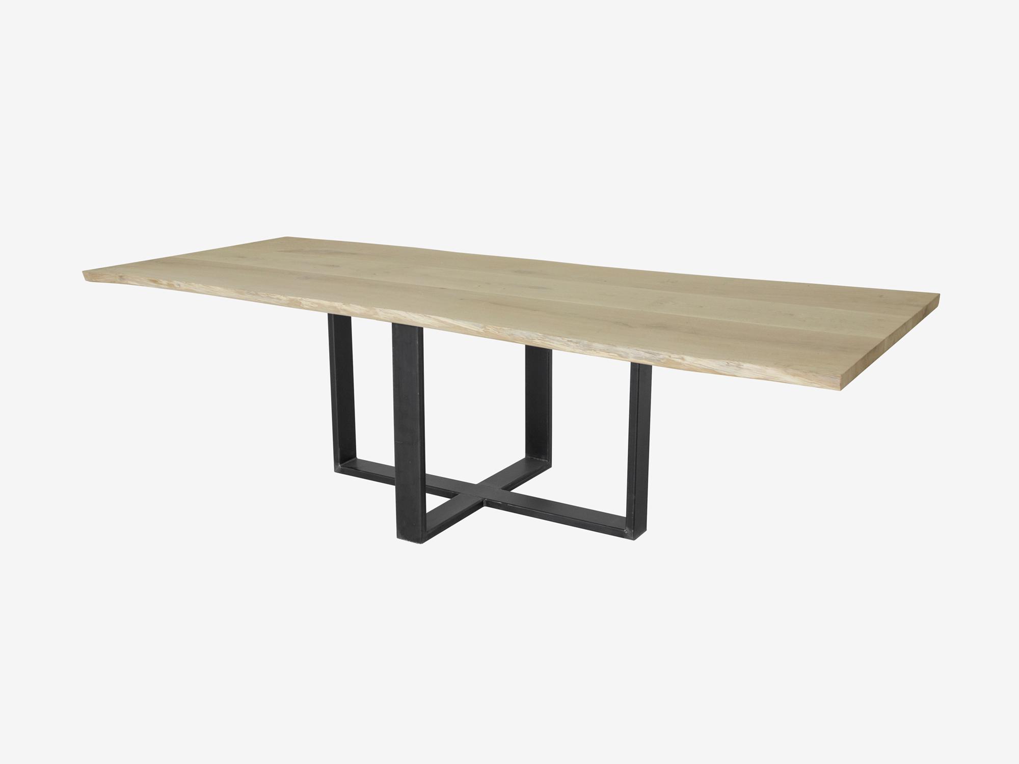 Boomstam tafel duc op maat gemaakt f rn meubelen for Eettafel op maat laten maken