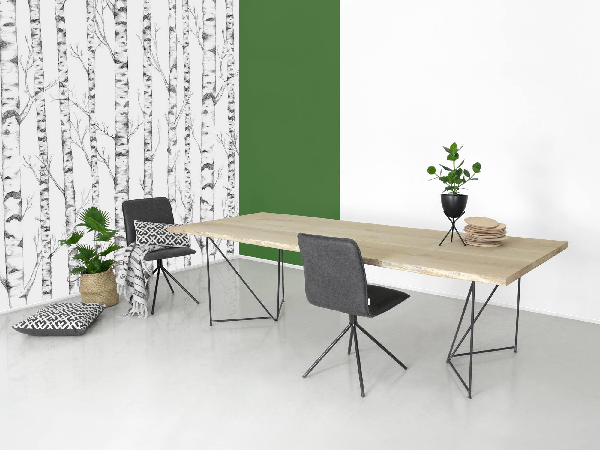 Bedwelming Boomstam Eettafel Veerle op maat gemaakt | FØRN meubelen &KV65