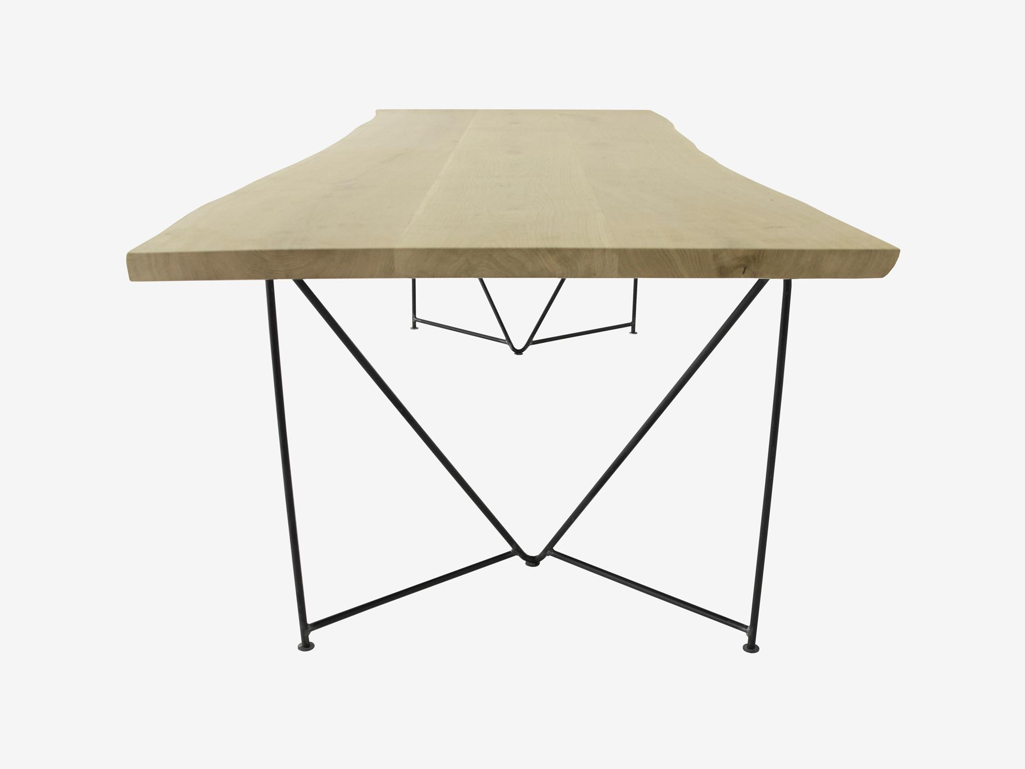 Boomstam eettafel veerle op maat gemaakt f rn meubelen for Eettafel op maat laten maken