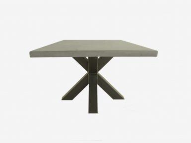 vierkante betonlook tafel Geezer