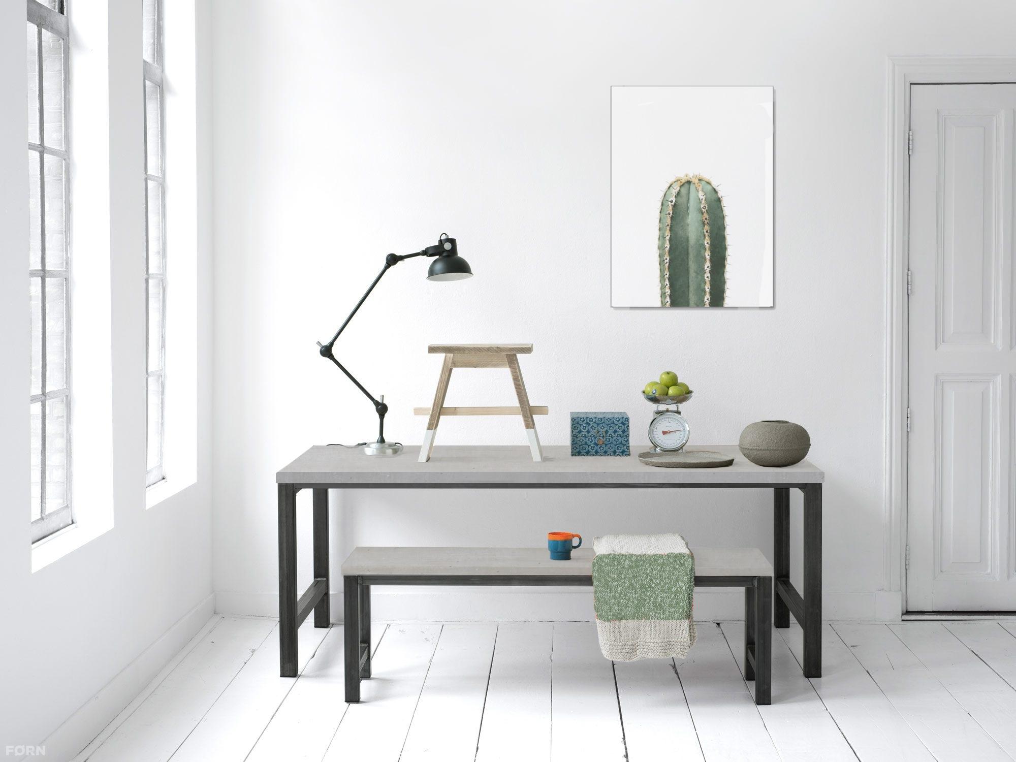 Betonlook tafel op maat seth fØrn betonlook meubelen