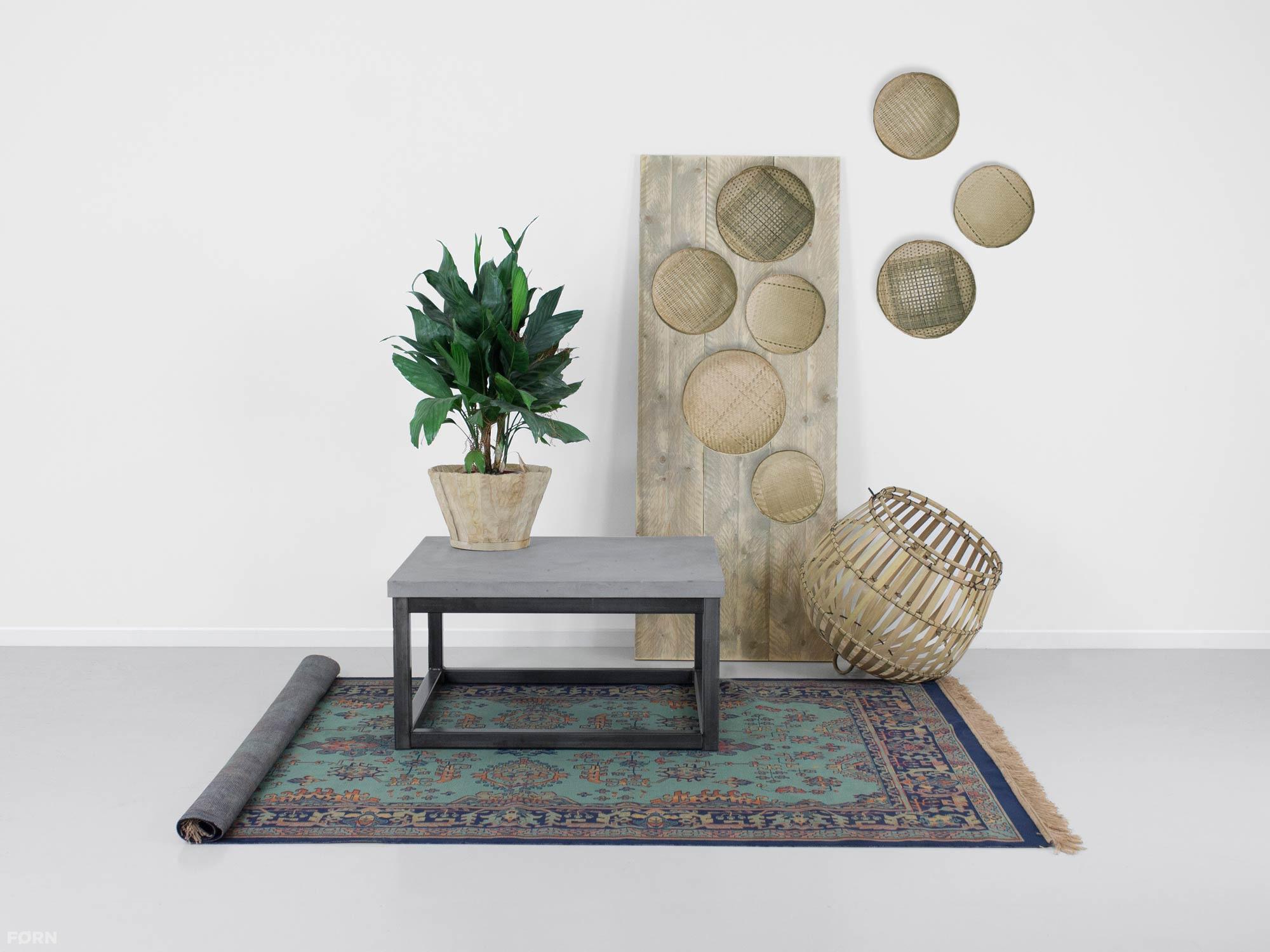 Salontafel Van Beton : Salontafel van beton jens fØrn maatwerk betonlook meubelen zwolle