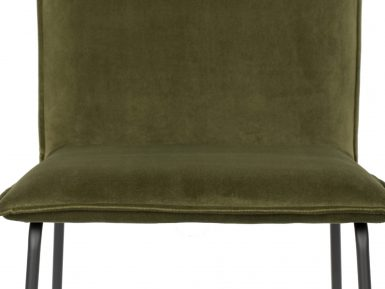 Zuiver stoel Olijfgroen Olive Velvet